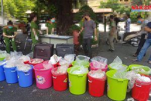 Bắt giữ hơn nửa tấn ma túy trị giá 500 tỷ đồng tại TPHCM