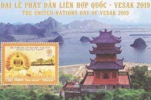 Bộ tem đặc biệt chào mừng Đại lễ Phật đản Liên hợp quốc - Vesak 2019