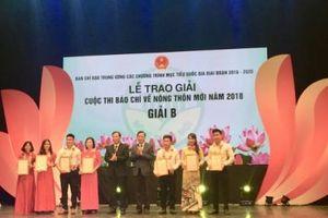 39 tác phẩm báo chí tiêu biểu được trao giải thưởng