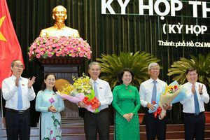 Ông Võ Văn Hoan và Ngô Minh Châu làm Phó chủ tịch UBND TP.HCM