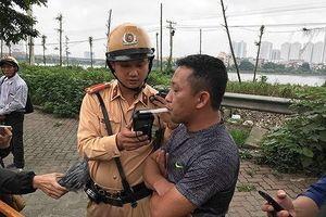 Hà Nội: Thành lập nhiều tổ công tác xử lý nghiêm lái xe vi phạm nồng độ cồn