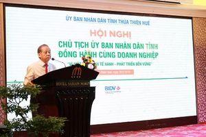 Chủ tịch UBND tỉnh Thừa Thiên Huế đồng hành cùng doanh nghiệp