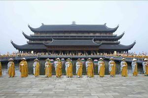 Trước giờ khai mạc Đại lễ Phật đản Vesak 2019