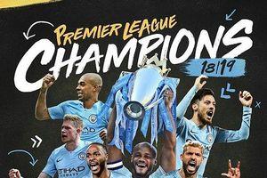 Khoảnh khắc Pep và Manchester City đi vào lịch sử Premier League