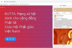 Ra mắt Mạng xã hội Phật giáo Việt Nam 'Butta.vn'