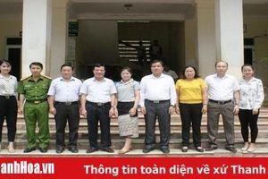 Đại biểu HĐND tỉnh tiếp xúc cử tri huyện Mường Lát