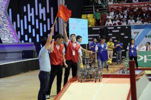 Lộ diện 8 đội vào vòng tứ kết Robocon Việt Nam 2019