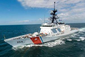 Tàu tầu tra Mỹ vội vã rút lui khi bị chiến hạm Venezuela áp sát