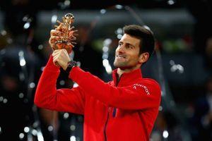 Vô địch Madrid Open, Djokovic cân bằng kỷ lục của Nadal