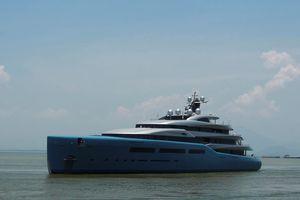 Siêu du thuyền 150 triệu USD của tỷ phú Anh cập cảng Tiên Sa