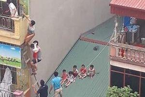 27 trẻ được đưa qua mái nhà an toàn sau vụ cháy cơ sở mầm non