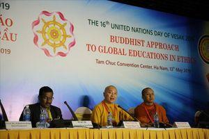 Vesak 2019: Phật pháp thúc đẩy giáo dục đạo đức