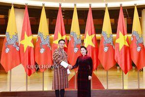 Chủ tịch Quốc hội hội đàm với Chủ tịch Hội đồng Quốc gia Bhutan