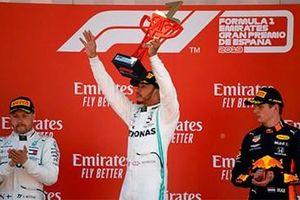 Lewis Hamilton giành ngôi vô địch tại GP Tây Ban Nha