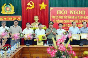 Nhiều đơn vị, doanh nghiệp tại Gia Lai được khen thưởng trong phong trào TDBVANTQ