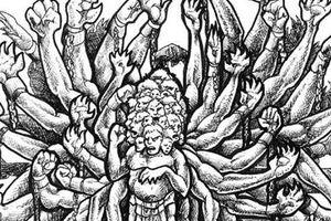 Rùng mình truyền thuyết về quái thú khổng lồ 100 tay