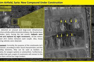 Ảnh vệ tinh tiết lộ Nga đang mở rộng căn cứ quân sự ở Syria?