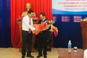 Trao quyết định bổ nhiệm chức vụ Phó Chánh án TAND tỉnh Phú Yên