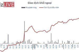 Khối ngoại bán ròng gần 550 tỷ đồng trong tuần căng thẳng chiến tranh thương mại
