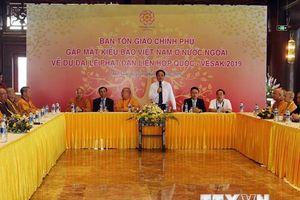 Việt Nam quan tâm đời sống sinh hoạt tâm linh của Phật tử kiều bào