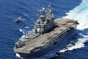 Siêu tàu đổ bộ tấn công Mỹ từng dự định mang tên hai địa danh Việt Nam