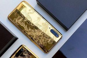 Xiaomi Mi 9 sắp có phiên bản mạ vàng 24K