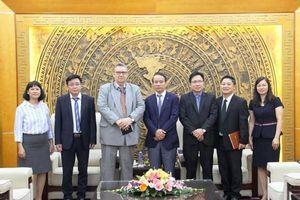Phó Tổng Thanh tra Nguyễn Văn Thanh tiếp xã giao Đại sứ Phần Lan