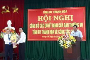Ông Lê Trọng Thụ được giới thiệu bầu chức Chủ tịch UBND huyện Đông Sơn
