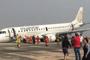 Cơ trưởng kỳ cựu lý giải vụ máy bay Myanmar hạ cánh bằng mũi