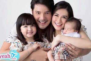 Mỹ nhân đẹp nhất Philippines khoe ảnh gia đình đẹp như tranh, CĐM trầm trồ: 'Tất cả cái đẹp dồn hết vào đây rồi!'