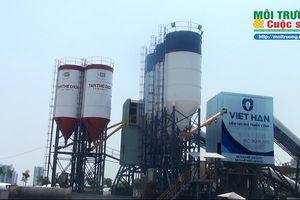 Quận 2, TP. HCM – Bài 1: Trạm bê tông hoạt động trong Công ty xây dựng Tuấn Lộc xả thải gây ô nhiễm môi trường