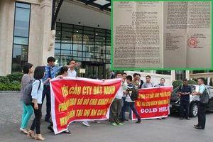 Dự án Gold Hill: Điêu đứng vì mua đất gần 3 năm nhưng không được cấp sổ đỏ