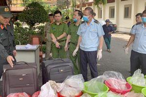 Hải quan Tp. HCM phối hợp bắt giữ lượng ma túy trị giá gần 500 tỷ