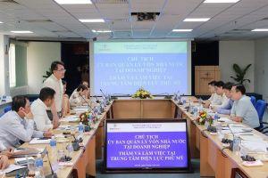 Trung tâm Điện lực Phú Mỹ đón tiếp Đoàn Ủy ban Quản lý vốn Nhà nước