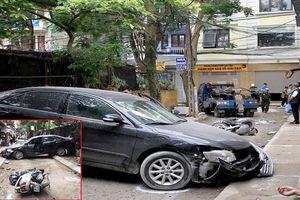 Nữ tài xế lùi xe tông chết người ở Hà Nội là Đại tá công an