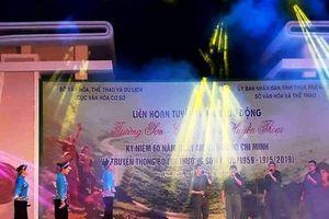 Liên hoan Tuyên truyền lưu động 'Trường Sơn - Con đường huyền thoại' tại Thừa Thiên Huế