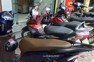 Công an phường Ô Chợ Dừa tìm chủ sở hữu xe máy