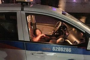 Nghi án nam thanh niên đâm trọng thương nữ lái xe taxi rồi lao xuống hồ Đền Lừ tự sát