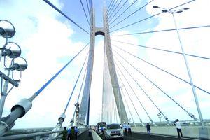 Cầu Vàm Cống dự kiến khánh thành vào ngày 19/5