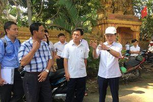 Cần Thơ: Sạt lở sông Ô Môn đe dọa ngôi chùa 300 tuổi