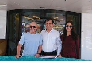 Ông chủ CLB Tottenham ghé thăm Đà Nẵng