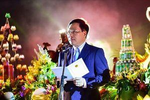 Lung linh lễ hoa đăng cầu hòa bình cho thế giới tại Đại lễ Vesak
