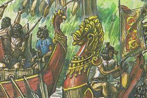 Ngán Đại Việt, Nguyên Mông xua quân vượt rừng núi đánh Chiêm Thành