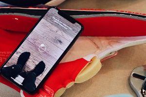 Chọn đúng cỡ giày nhờ... ứng dụng thực tế ảo tăng cường