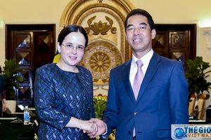 Việt Nam sẵn sàng là cầu nối hợp tác giữa Romania và EU với ASEAN
