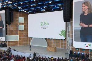 Lượng thiết bị Android đang hoạt động đạt mức 2,5 tỷ
