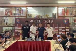 AFC Cup 2019: Hà Nội FC quyết giành vé đi tiếp