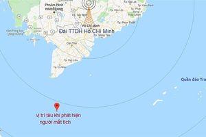 Hai ngư dân Cà Mau mất tích chưa rõ nguyên nhân tại vùng biển phía Nam