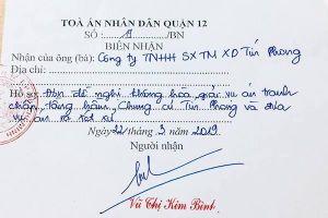 Vụ việc tại chung cư Tín Phong: Doanh nghiệp cho rằng tòa 'ngâm' án