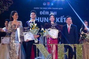 Ngắm cặp đôi Nam vương - Hoa khôi ĐH Kinh tế quốc dân 2019